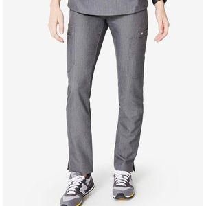 FIGS Graphite Yola Skinny Scrub Pants Size L